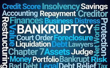 Bankruptcy-Word-Cloud-on-Blue-Background