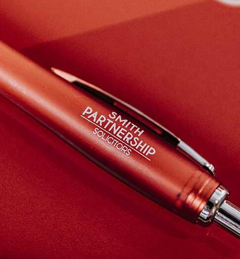 Smith Partnership labelled pen